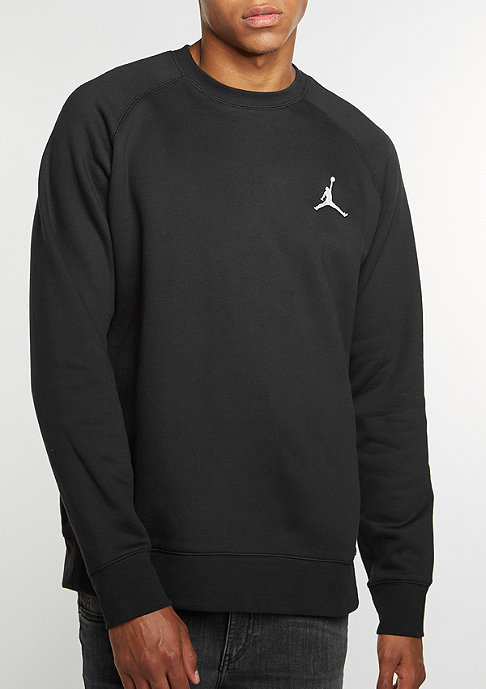JORDAN Flight Fleece black/white
