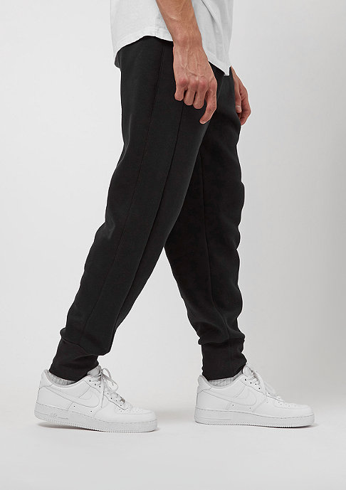 JORDAN Trainingshose Flight Fleece Cuff black/white