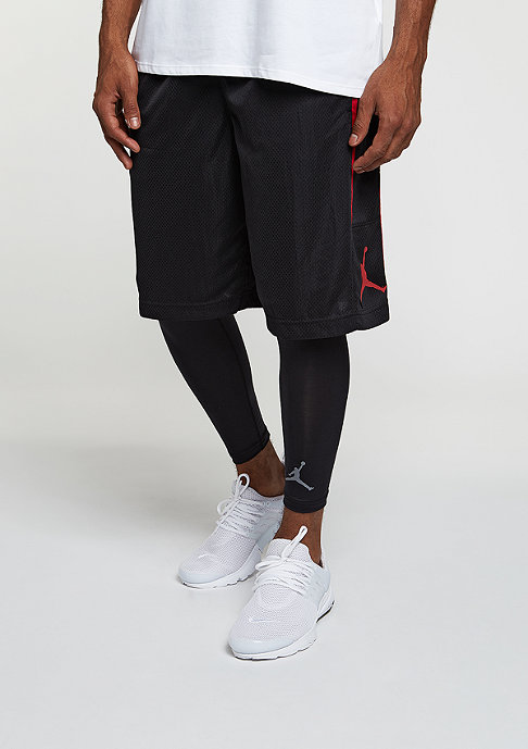 JORDAN Sport-Short Double Crossover black/gym red/gym red