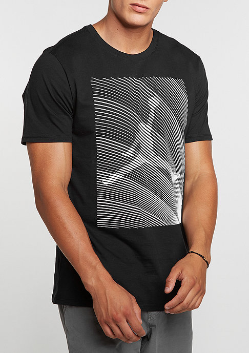 JORDAN T-Shirt Air Jordan 12 Horizon black/white