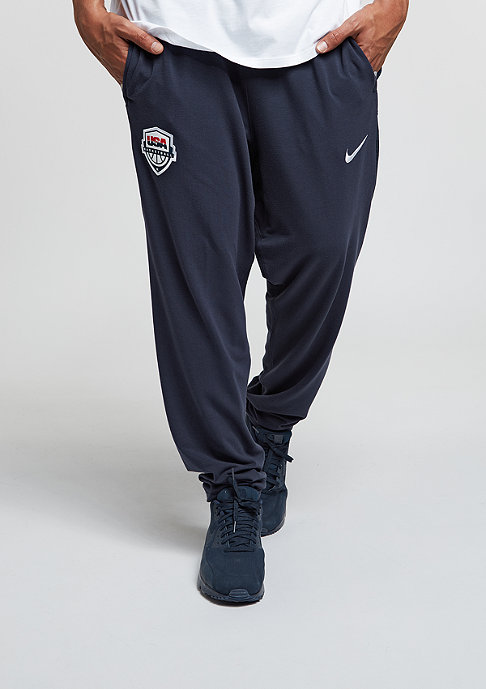 NIKE Trainingshose USAB Elite Modern obsidian/white