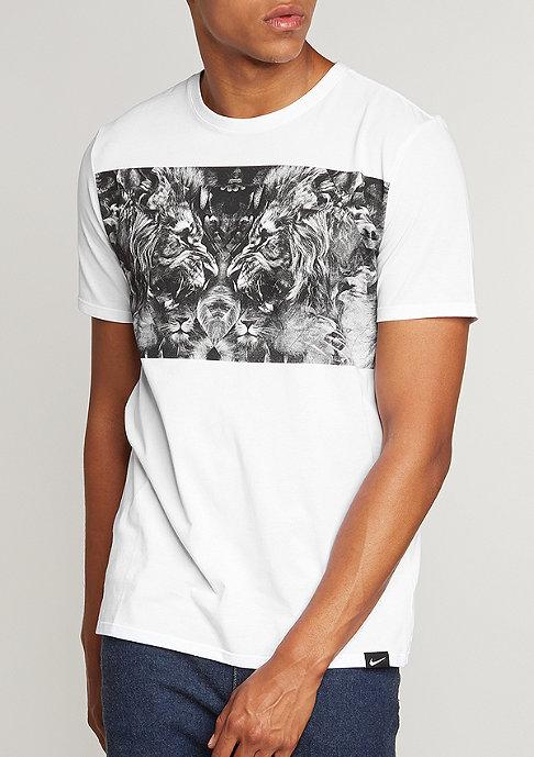 NIKE Le Bron Lion white/white