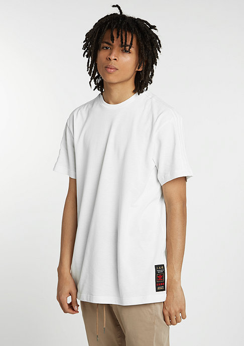 adidas T-Shirt Budo Emboridered vintage white