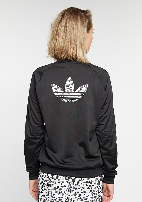 adidas Trainingsjacke Inked Supergirl black