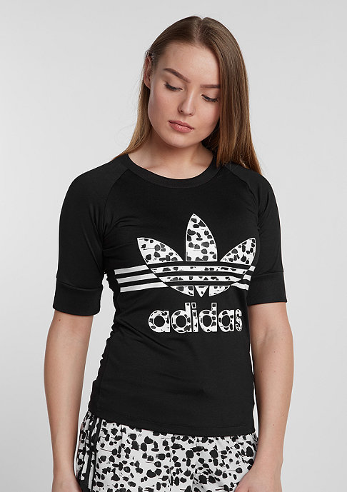 adidas T-Shirt Inked Fitted black
