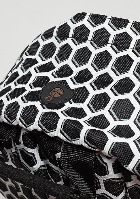 Mi-Pac Honeycomb black/white