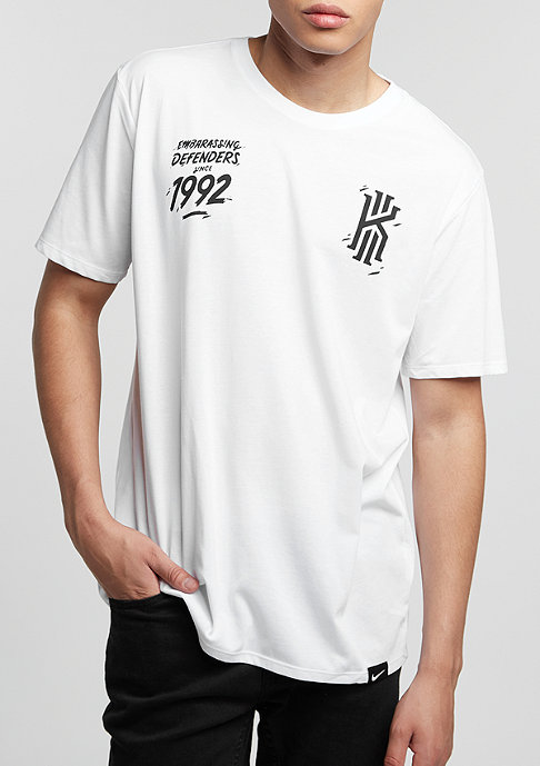 NIKE T-Shirt Kyrie Since 92 white/white