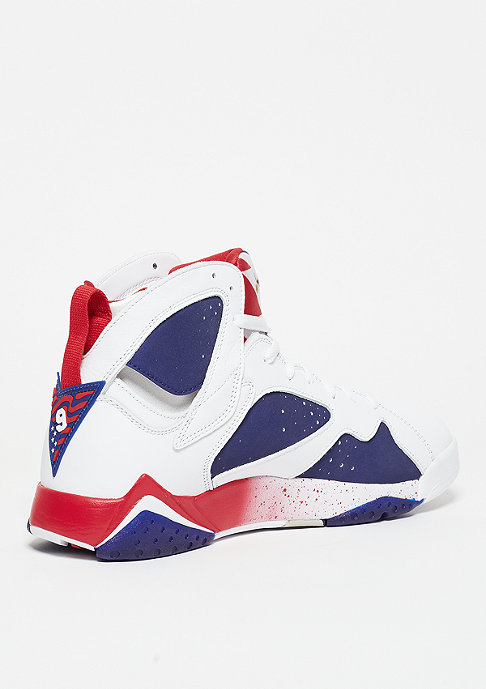 JORDAN Air Jordan VII Retro white/metallic gold coin/deep royal