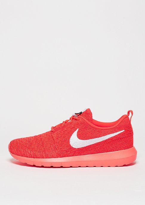 NIKE Roshe Flyknit bright crimson/white/university red