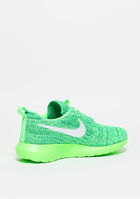 NIKE Laufschuh Wmns Roshe Flyknit voltage green/white/lcd green