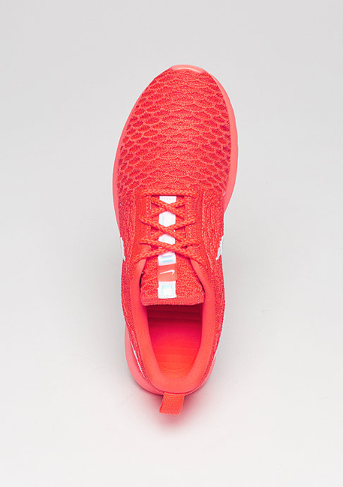 NIKE Laufschuh Wmns Roshe Flyknit bright crimson/white/university red