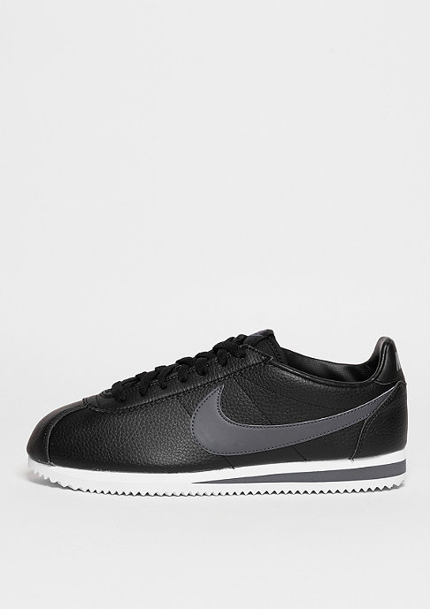 NIKE Classic Cortez Leather black/dark grey/white