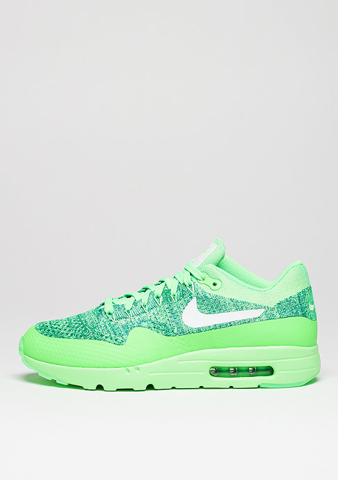 NIKE Air Max 1 Ultra Flyknit voltage green/white/lcd green