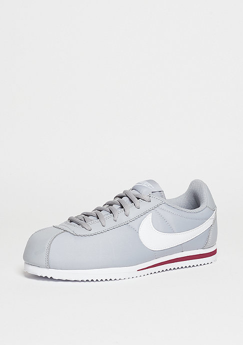 NIKE Cortez Nylon wolf grey/white/team red