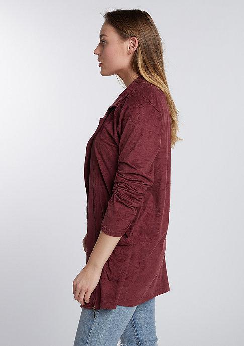 Flatbush Velours Jacket bordeaux