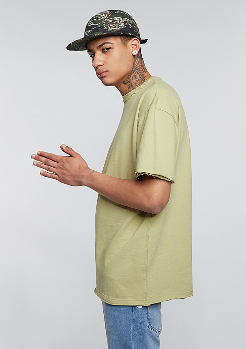 Future Past Oversized Tee light olive