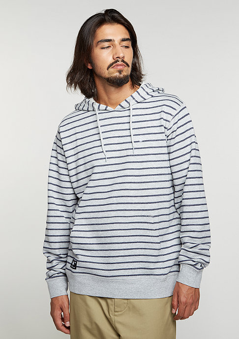 LRG Hooded-Sweatshirt Fairway Stripe ash heather