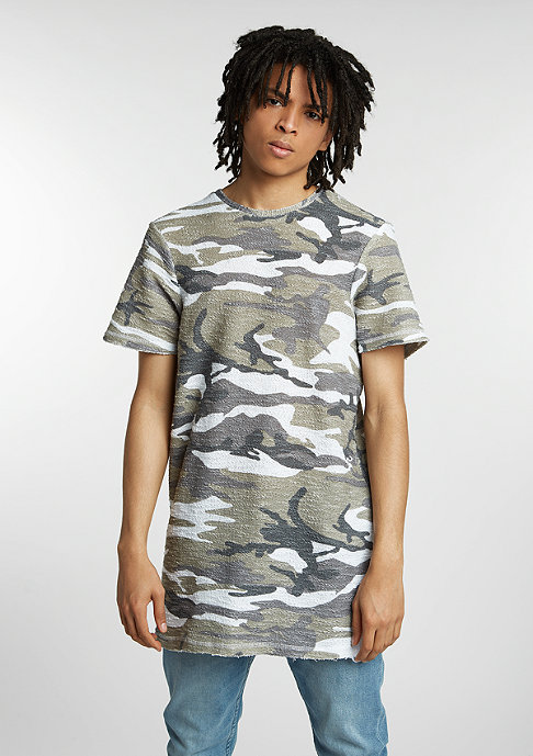Future Past Knit Tee taupe camouflage
