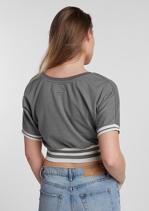 Future Past T-Shirt Short Retro charcoal