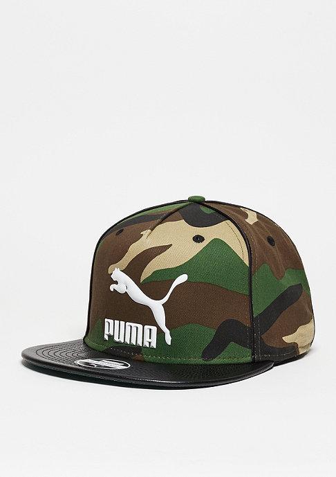Puma LS Deluxe Strapback burnt olive/black