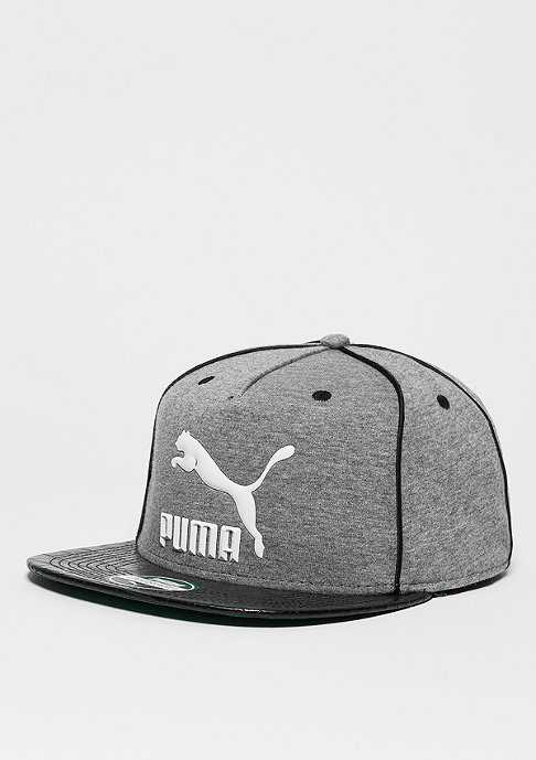 Puma LS Deluxe Strapback medium grey heather/black