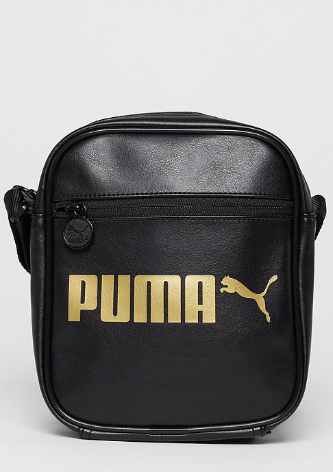Puma Umhängetasche Campus Portable puma black/gold