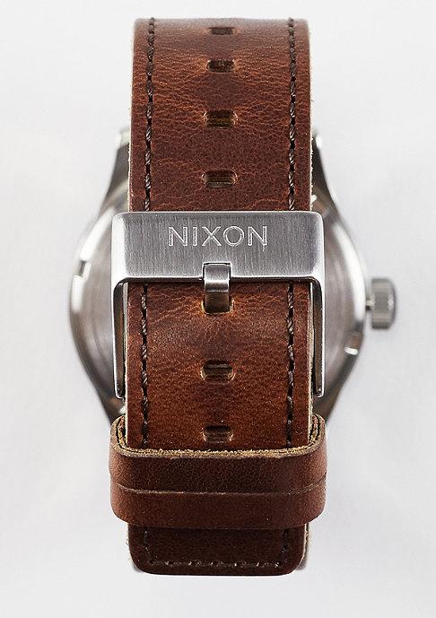 Nixon Sentry Leather surplus/brown