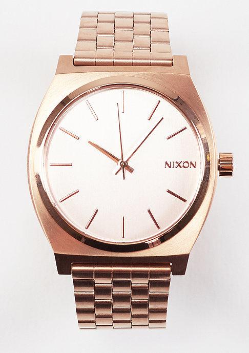 Nixon Time Teller all rose gold
