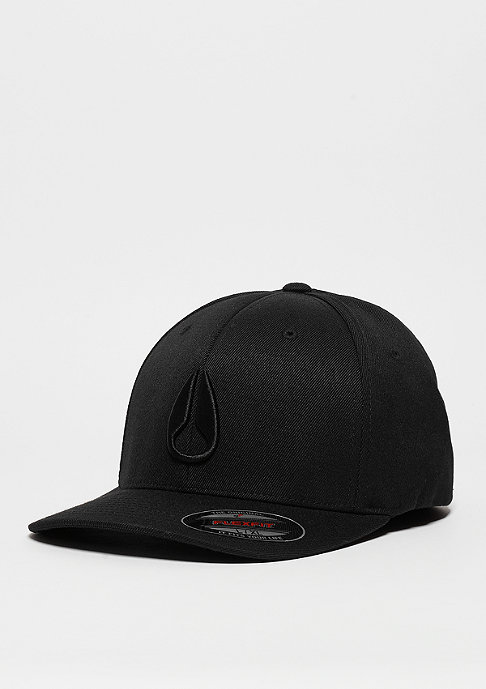 Nixon Deep Down FF Athletic Fit Hat all black