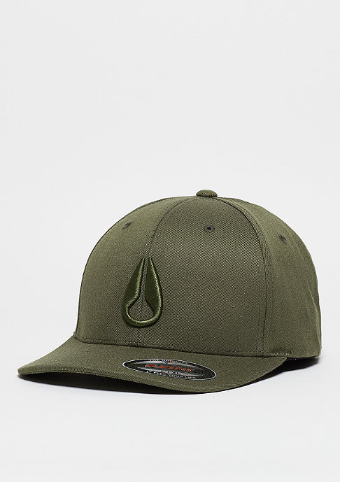 Nixon Deep Down FF Athletic Fit Hat olive