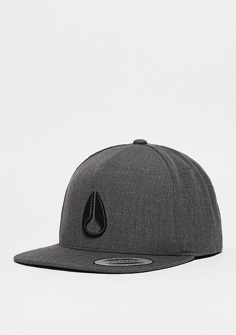 Nixon Snapback-Cap Simon dark grey heather