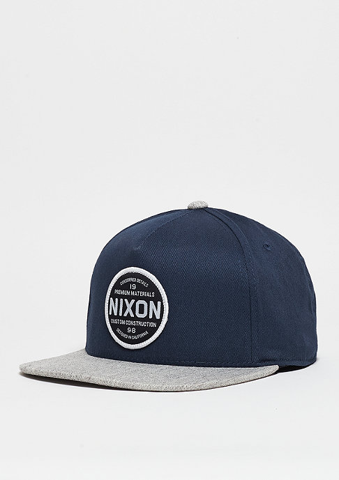 Nixon Snapback-Cap Lazaro 110 navy