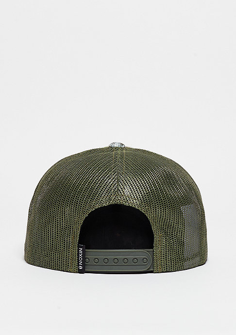 Nixon Team Trucker dark green