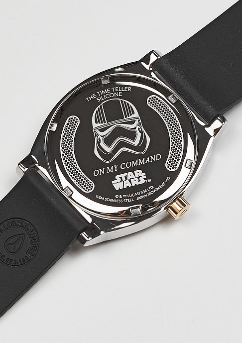 Nixon Time Teller Silicone Star Wars Phasma black