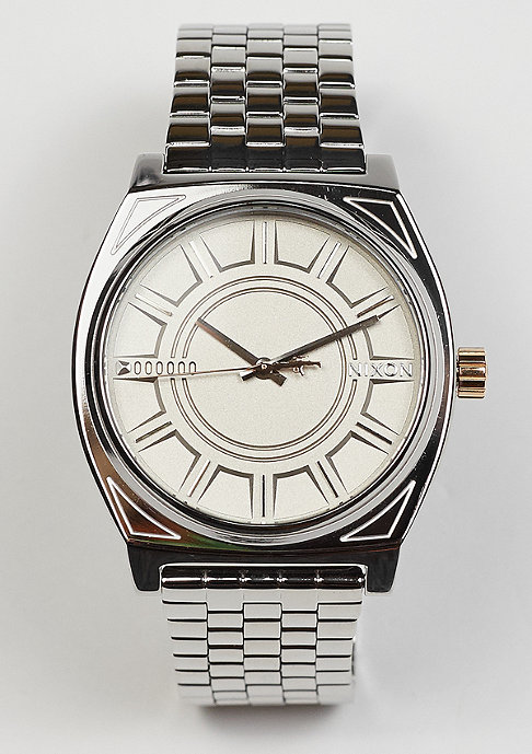 Nixon Time Teller Star Wars Phasma silver