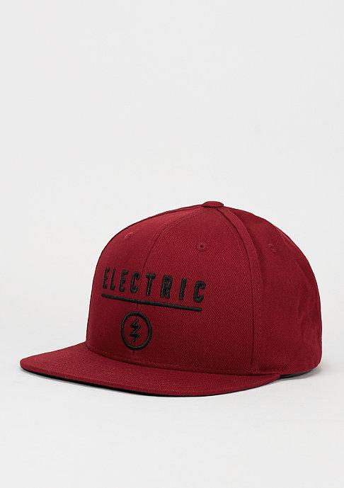 Electric Snapback-Cap Identity Corp burgundy
