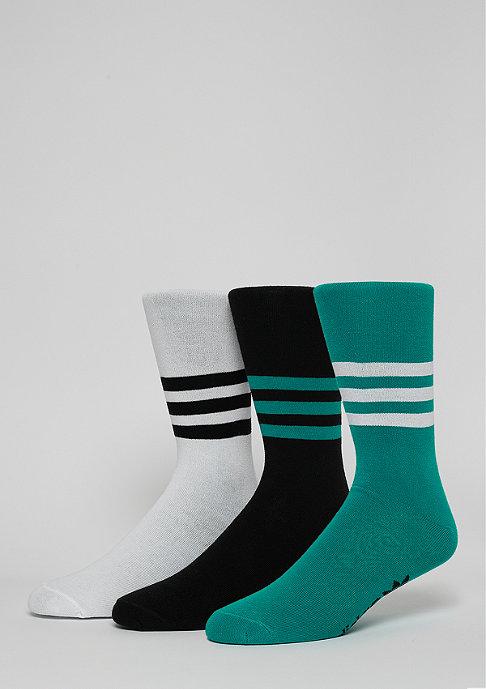 adidas Thin Crew Sock white