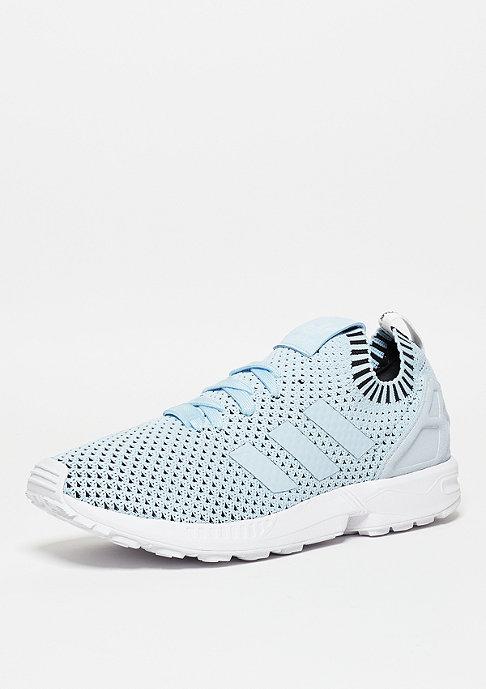 adidas Laufschuh ZX Flux Primeknit ice blue/white/core black