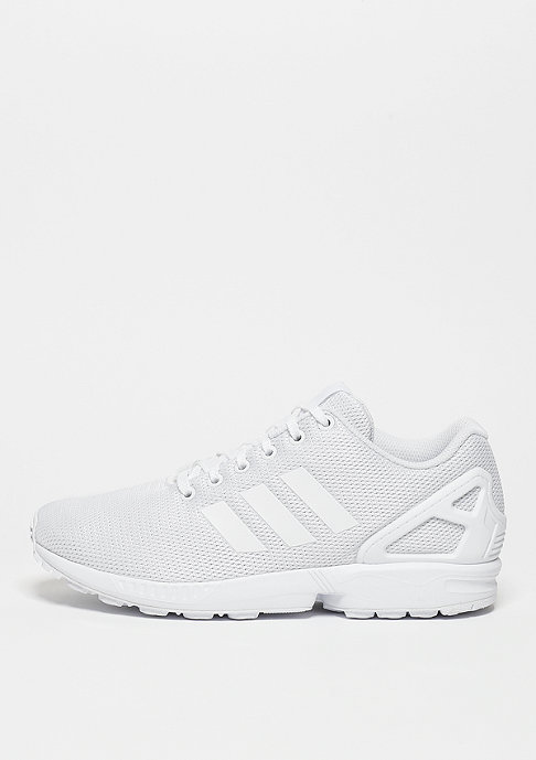 adidas Laufschuh ZX Flux white/white/clear grey