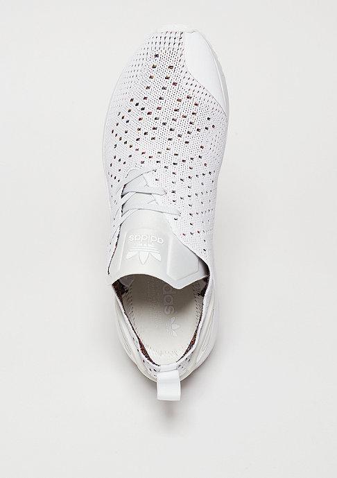 adidas Laufschuh ZX Flux ADV ASYM Primeknit crystal white/crystal white/white