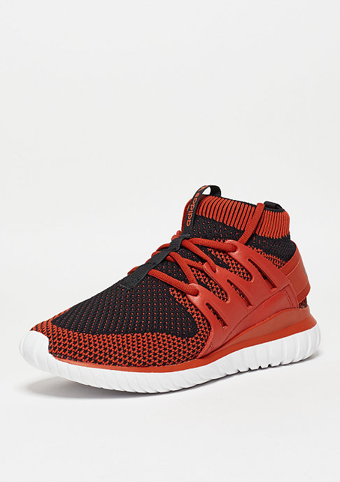 adidas Tubular Nova Primeknit craft chili/core black/white