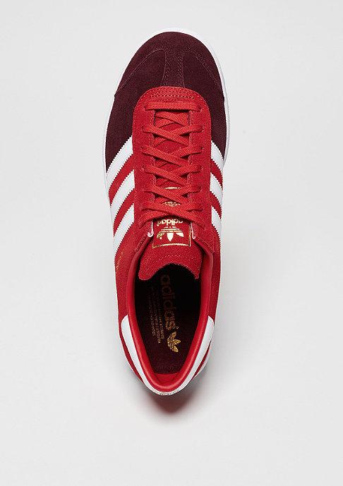 adidas Schuh Hamburg maroon/white/maroon