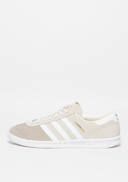 adidas Hamburg chalk white/white/light brown