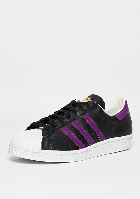 adidas Superstar 80s core black/core black/white