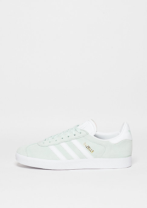 adidas Schuh Gazelle ice mint/white/gold metallic