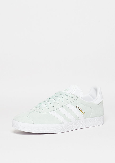 adidas Gazelle ice mint/white/gold metallic