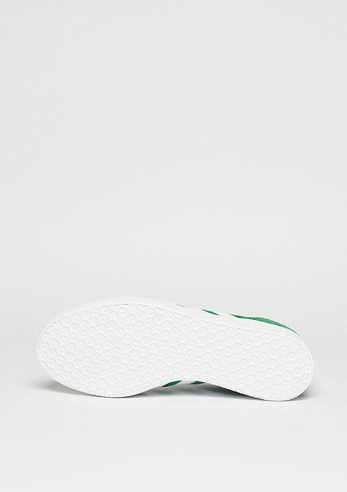 adidas Gazelle green/white/gold metallic