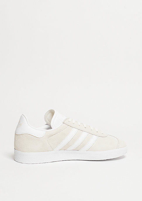 adidas Laufschuh Gazelle off white/white/gold metallic