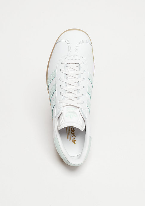 adidas Laufschuh Gazelle vintage white/vapour green/gum
