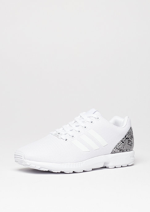 adidas ZX Flux white/white/core black